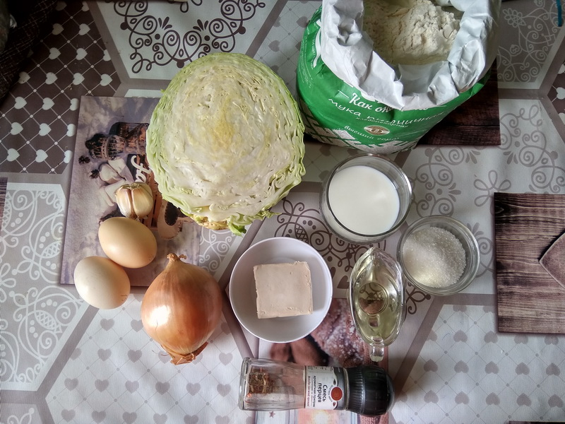 Мой фирменный пирог с капустой (Начинка не борщ, а наша московская)