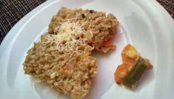 «Овсяные хлопья запеканкой» — давно так готовлю: хлопья с овощами, вроде бы и не каша, а завтрак отличный