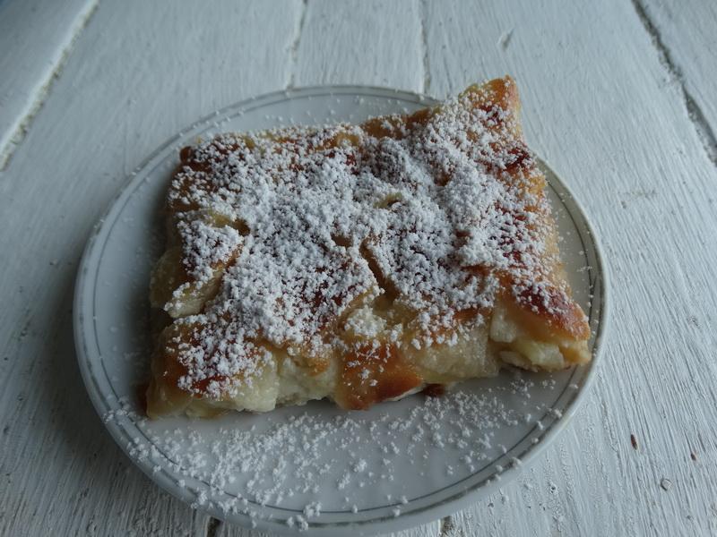 «Невидимый» – любимейший яблочный пирог (теста минимум)