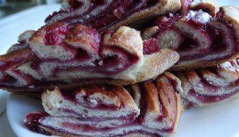 Яблочно-смородиновый пирог. Как сказал один мой гость: «Идеальное сочетание начинки и теста, кислого и сладкого»