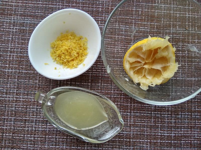 Печенье с кислинкой «Лимонные розочки»