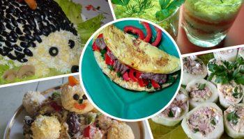 Моя 5-ка идей необычного оформления салатов на праздничный стол (+мои пошаговые фото рецепты)