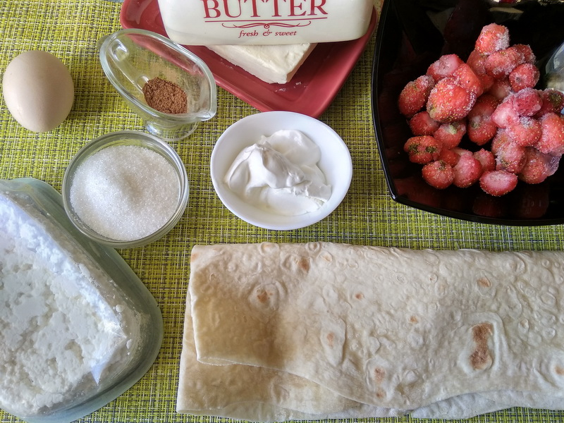 Минутное объедение к завтраку: из лаваша и творога, без возни и с пользой