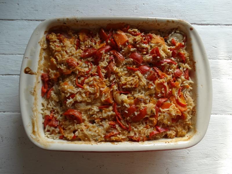 Окорочка с рисом и овощами. Очень здоровский рецепт и блюдо: нежнейшее мясо вместе с вкуснейшим гарниром