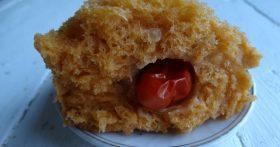 Итальянский «Томатный хлеб» — как губка, пористый и пышный. Влюбилась в него сразу
