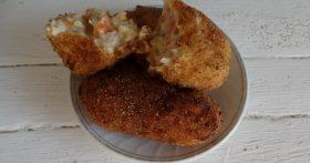 Котлеты по рецепту «Крокетов» (они реально вкуснее обычных котлет: нежные, буквально таят и всё под хрустом)