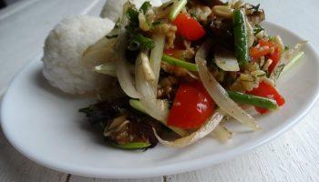 Крымский салат из баклажан – уже 20 лет его готовлю и до сих он у меня любимейший