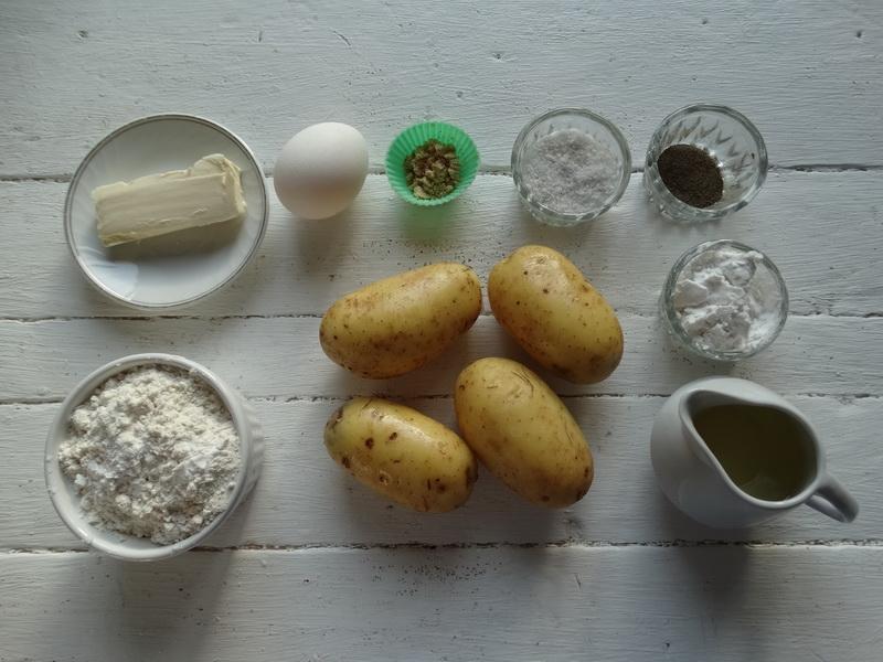 Рецепт «Картофельные пальчики» - любимый гарнир моих внуков. Всё просто: картофельное пюре, но со вкусной корочкой