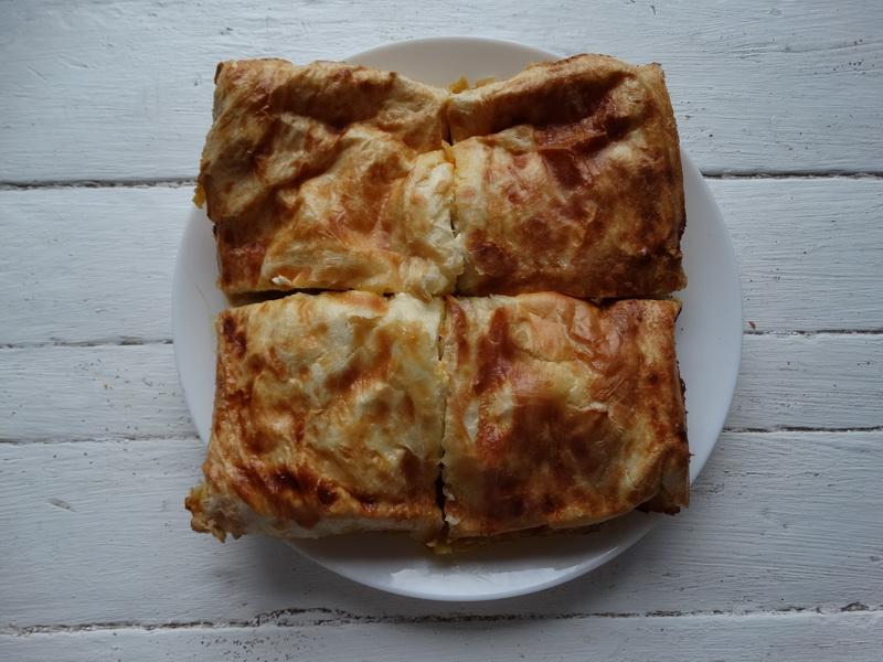 Пирог из лаваша с обалденной начинкой