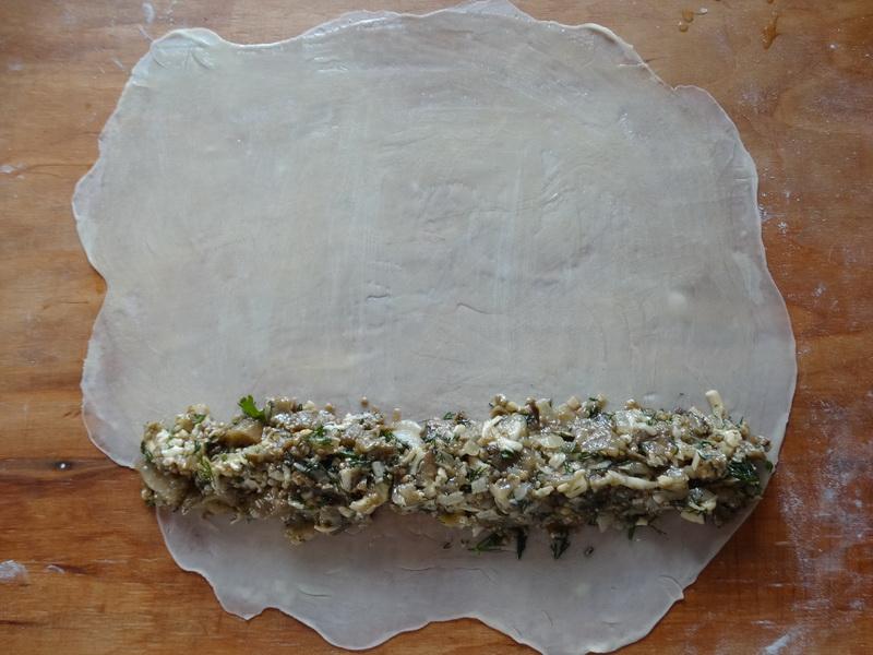 Осенний пирог «Бурек» с обалденной баклажанной начинкой, вкус просто праздник вообще не надоедает